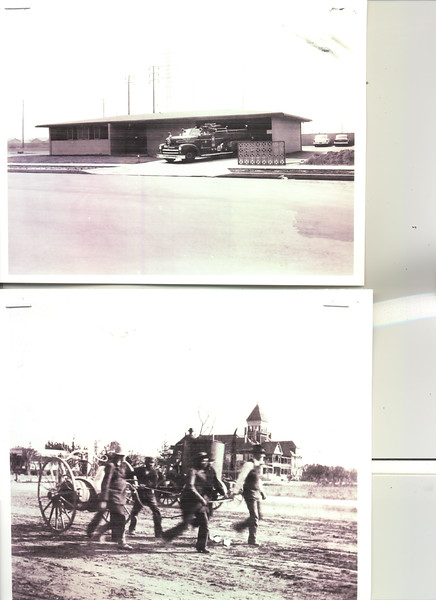 Anaheim Fire Historical Photos