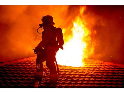 HOUSE FIRE WESMONT