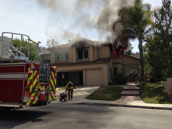 Truck 10 House Fire