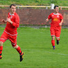 AFC Liverpool's Aaron Stafford and Shaun Chart.