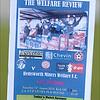 Hemsworth Miners Welfare FC match programme.