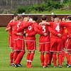 AFC Liverpool pre-match huddle.