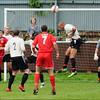 AFC Liverpool attack Oldham Boro's goal.