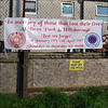 Rangers FC banner. (Small picture size).
