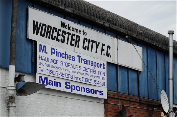 Worcester City versus AFC Liverpool.