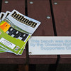 Glossop North End's matchday programme.