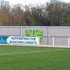 The Millbank Linnets Stadium - home of Runcorn Linnets FC.