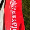 An AFC Liverpool match banner.