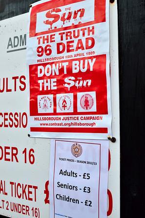AFC Liverpool versus Armthrope Welfare.