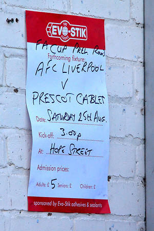 AFC Liverpool versus Ashton Athletic.