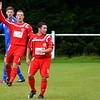 AFC Liverpool's Darren Torpey and Dan Wilkinson.