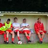 AFC Liverpool's Muktar Mahama, Chris Williams, Luke Davies, Paul Moore and Stuart Humphreys.
