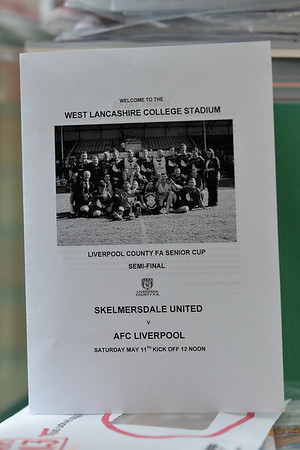 Skelmersdale United versus AFC Liverpool in the Liverpool County FA Senior Cup Semi-Final.