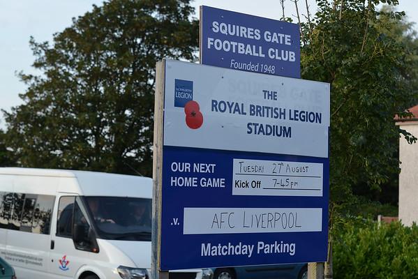 Squires Gate versus AFC Liverpool.