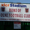 Colne FC and AFC Liverpool.