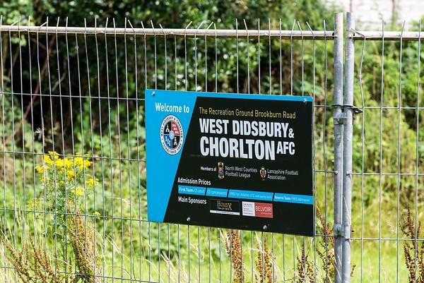 West Didsbury & Chorlton AFC and AFC Liverpool.