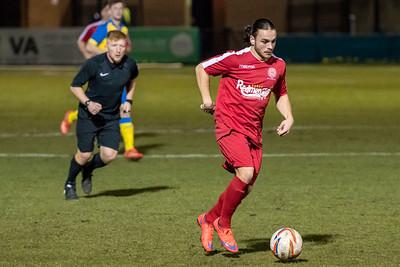 Ashton Athletic FC (h) L 4-1 *
