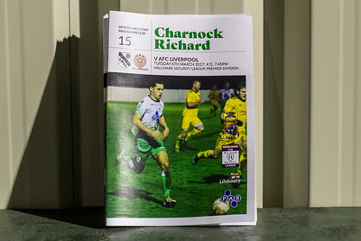 Charnock Richard FC (a) D 2-2 *