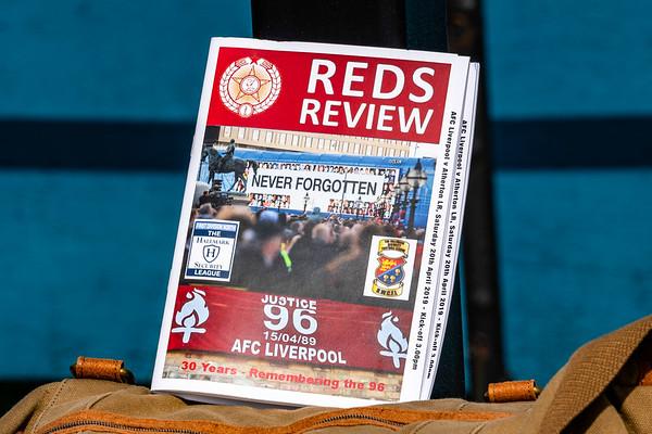 AFC Liverpool and Atherton Laburnum Rovers.