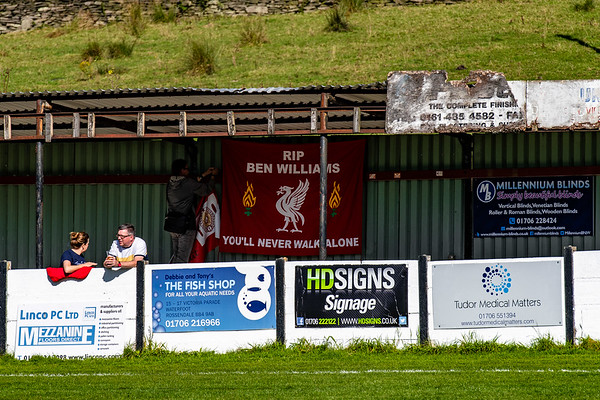 Bacup Borough FC and AFC Liverpool.