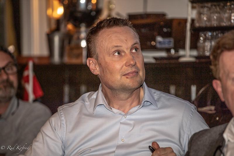 Lars Gandrup Pedersen valgt til at afløse Thomas de Leeuw, der ikke ønskede genvalg