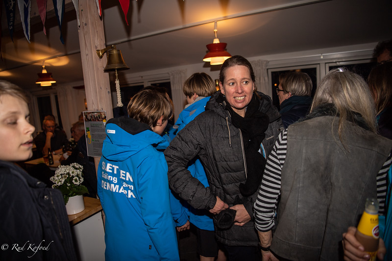 Ungdomsudvalgets OL-sejler Linda Serup-Simonsen et vigtigt omdrejningspunkt for de unge sejlere