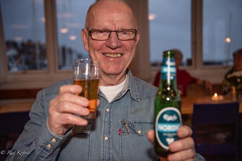 MIN KONE VIL SYNES OM DET, SIGER ÆRESMEDLEM PELLE SØRENSEN OG PRÆSENTERER  ALKOHOLFRI ØL