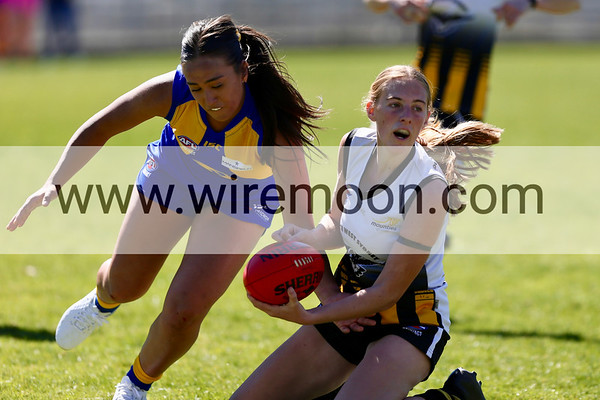 South West Sydney Magpies vs East Coast Eagles, AFL Sydney Women's Division Two Preliminary Final, 7th September 2019.