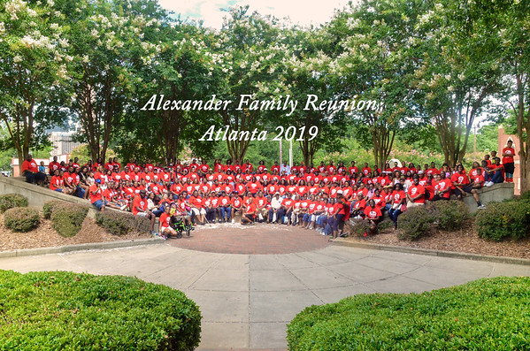 The Alexander Familly Reunion 2019