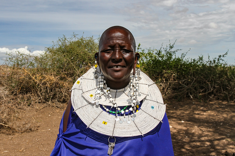 Masai elder woman - Serengeti-5372