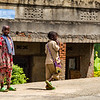 Children on sidewalk - Uganda-7449