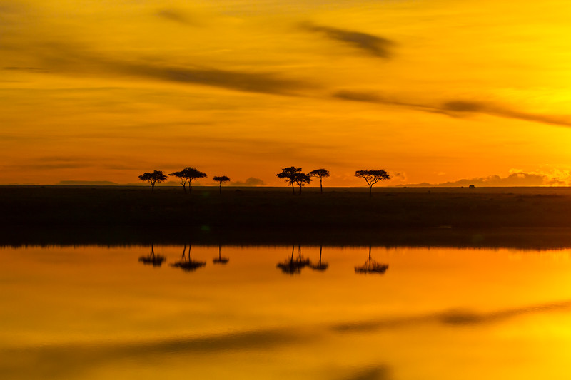 Sunrise - Serengeti-7150