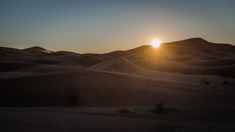 Sunrise, Sahara