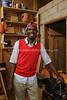 CM 127  Francis Joseph Mbarga Nguele, wood craftsman (in Yaounde)