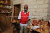 CM 126  Francis Joseph Mbarga Nguele, wood craftsman (in Yaounde)