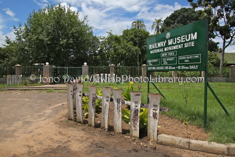 ZM 123  Railway Museum, location of future Jewish Livingstone exhibition