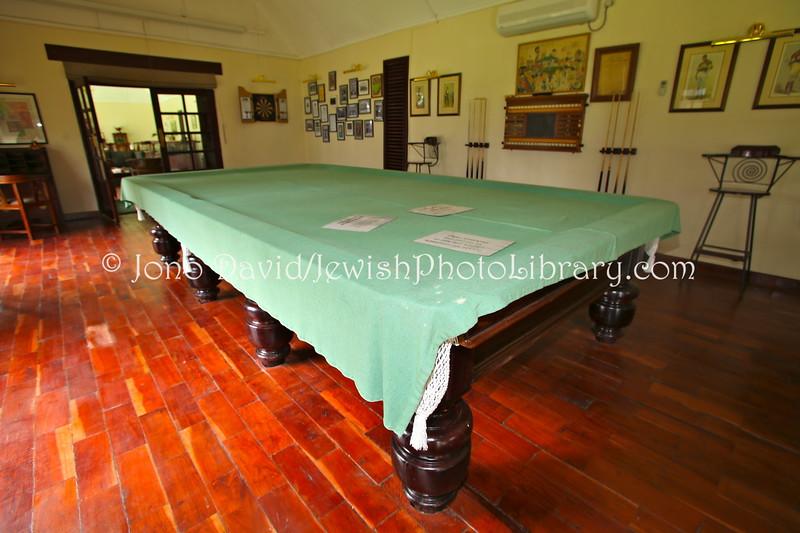 ZM 139  Pool table of Barney Barnato (21 February 1851 ? 14 June 1897), born Barnet Isaacs, at The River Club