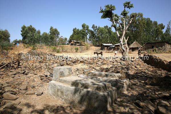 ETHIOPIA, Kosheshilit (Gondar). Jewish Cemetery (3.2015)