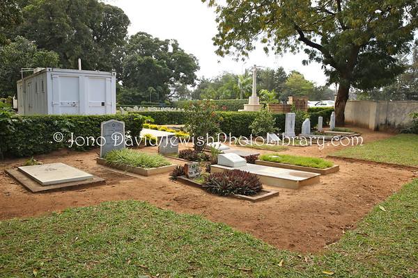 KENYA, Mombasa. Jewish Cemetery Mbaraki (8.2013)