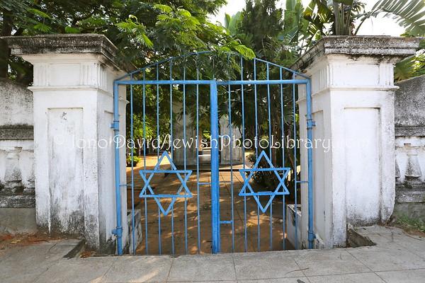 MOZAMBIQUE, Maputo. Jewish Cemetery (2.2013)