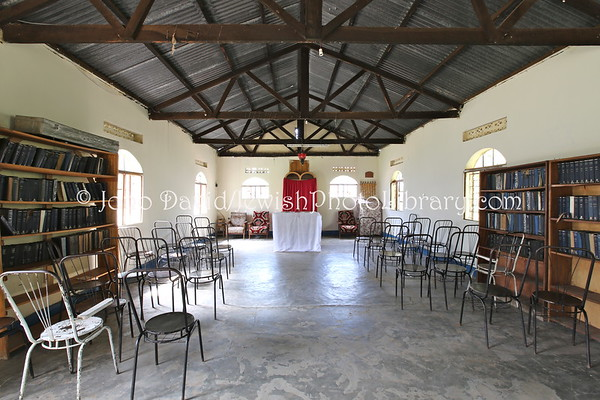 UGANDA, Mbale District, Nabugoye Village. Moses Synagogue (1995, original built 1918). Abayudaya Jews. (8.2013)