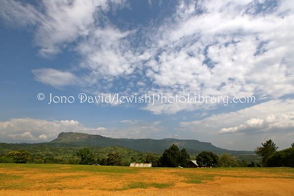 UGANDA, Mbale District, Nabugoye Village. Miscellaneous. Abayudaya Jews. (8.20130