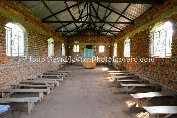 UGANDA, Namatumba District. Namutumba Synagogue (aka The Perlman Synagogue, built 2007). Abayudaya Jews. (8.2013)