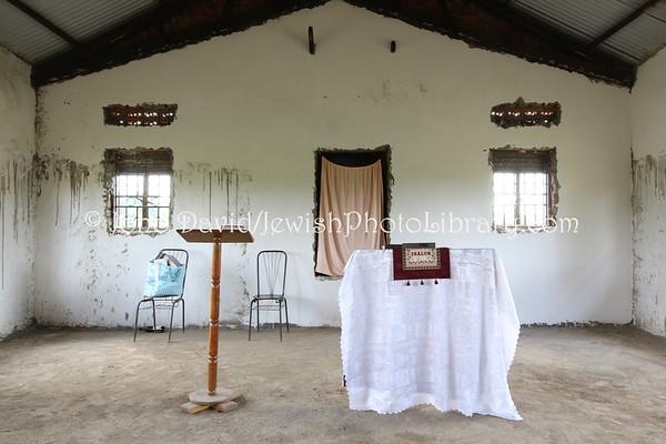 UGANDA, Budaka District, Nansenyi. Nasenyi Synagogue (new, built 2012). Abayudaya Jews. (8.2013)