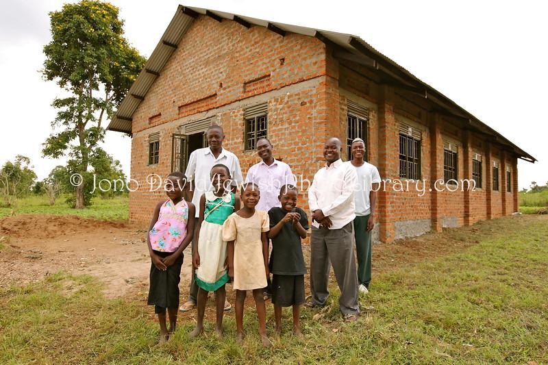 UG 362  Adults (L to R), Samson Shadrak,Isaac Biyaki, Samson Wamani, Joseph Mwanika