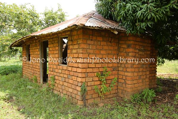 UGANDA, Budaka District, Nansenyi. Nasenyi Synagogue (old, built 1912). Abayudaya Jews. (8.2013)