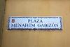 ES 1238  Plaza Menahem Gabizon