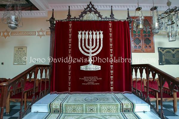 MELILLA (Spain). Isaac Benarroch Synagogue (8.2015)