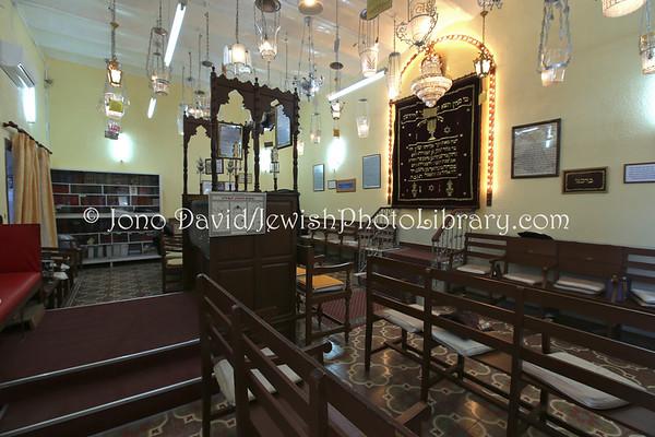 MELILLA (Spain). Rabino Shem Tob Chocron Synagogue (8.2015)