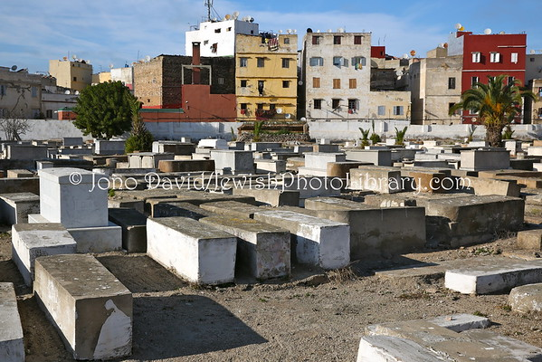 MOROCCO, Casablanca. Old Jewish Cemetery (in the Medina) (3.2015)